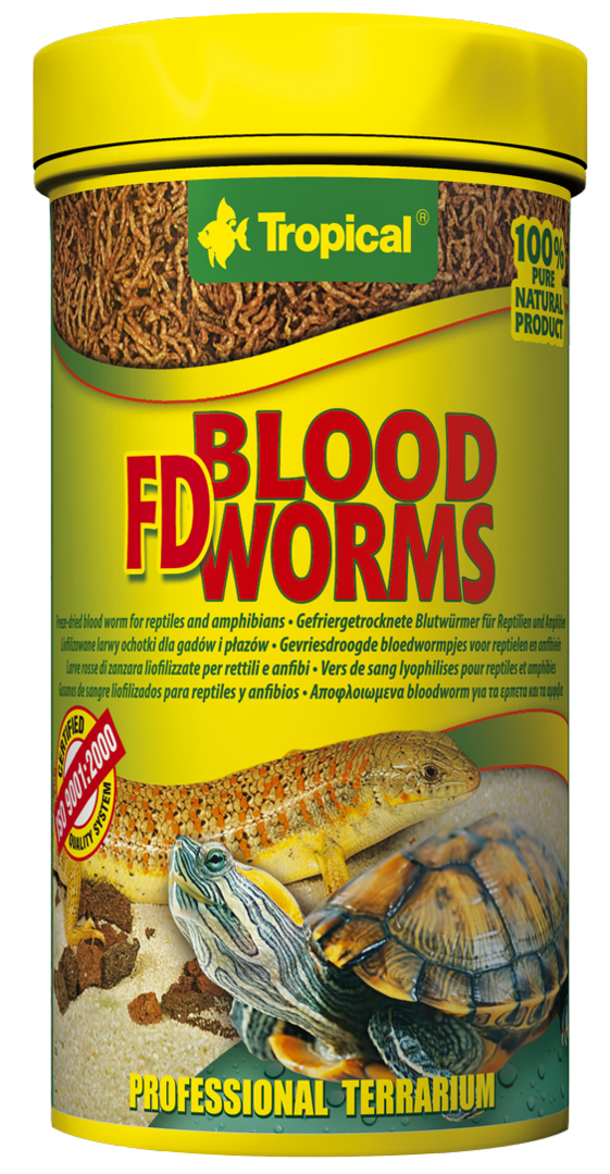 Tropical FD BLOOD WORMS