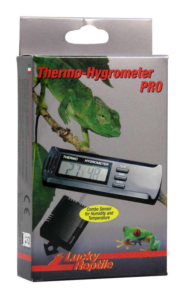 Lucky Reptile Thermo- Hygrometer PRO